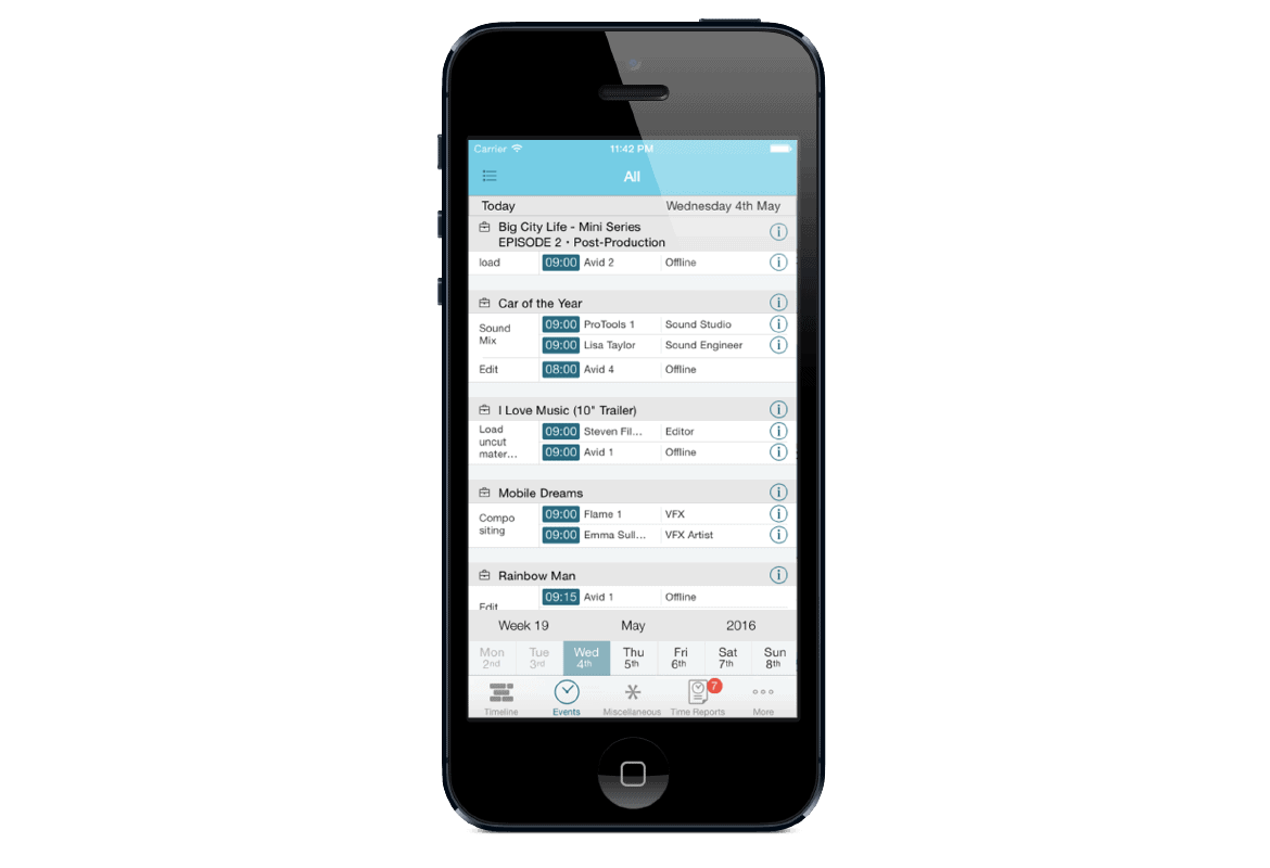 farmerswife project management scheduling software clear user friendly interface iphone