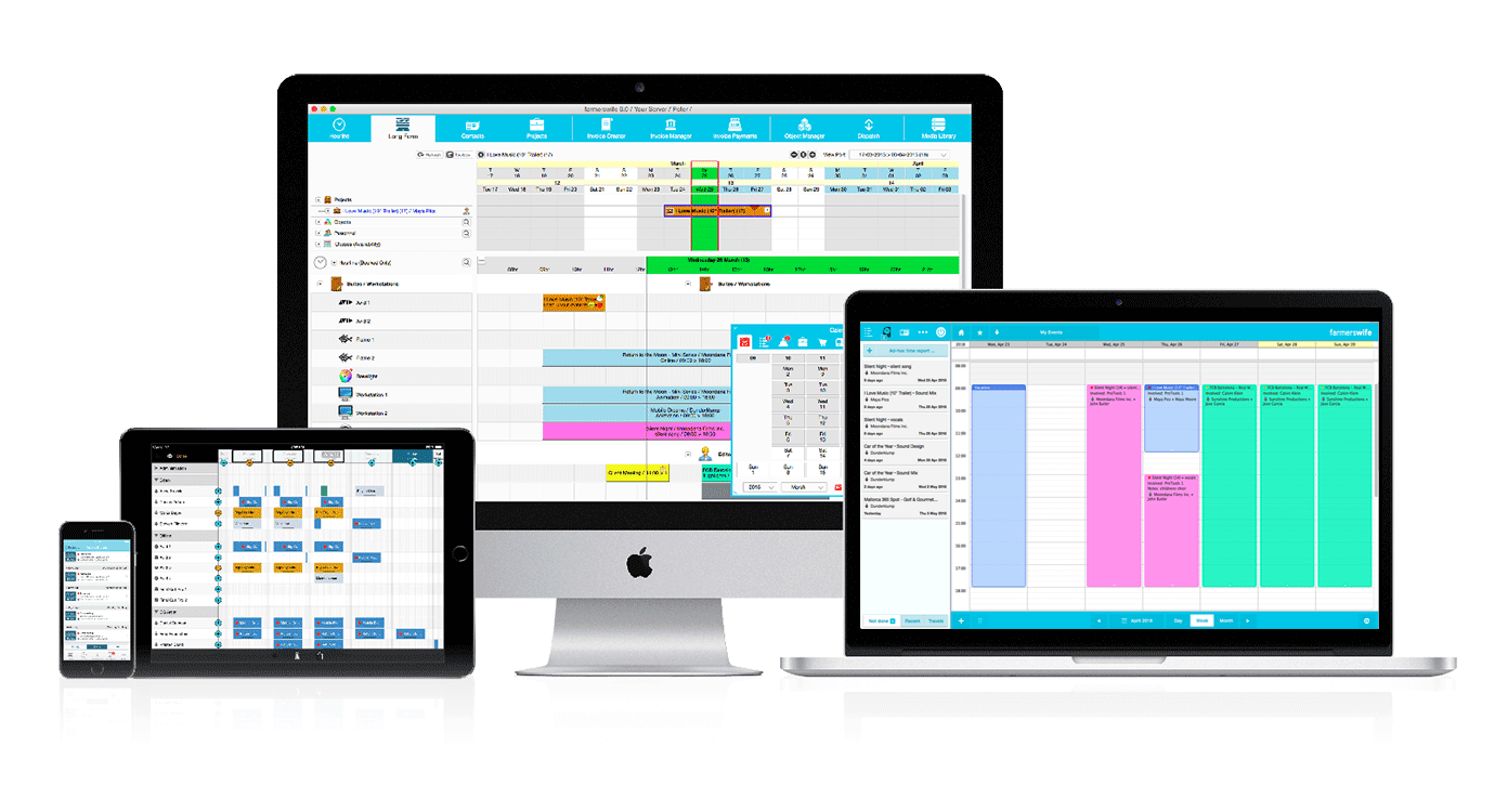 farmerswife resource and scheduling software