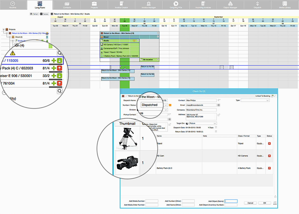 farmerswife project management scheduling tools equipment management tracking extra options